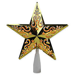 Northlight 8.5-Inch Lighted Star Christmas Tree Topper