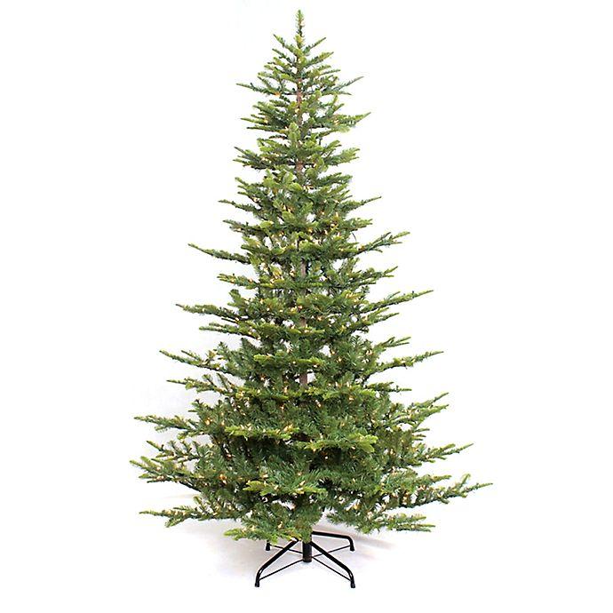 Alternate image 1 for Puleo International 4.5-Foot Pre-Lit Aspen Fir Christmas Tree