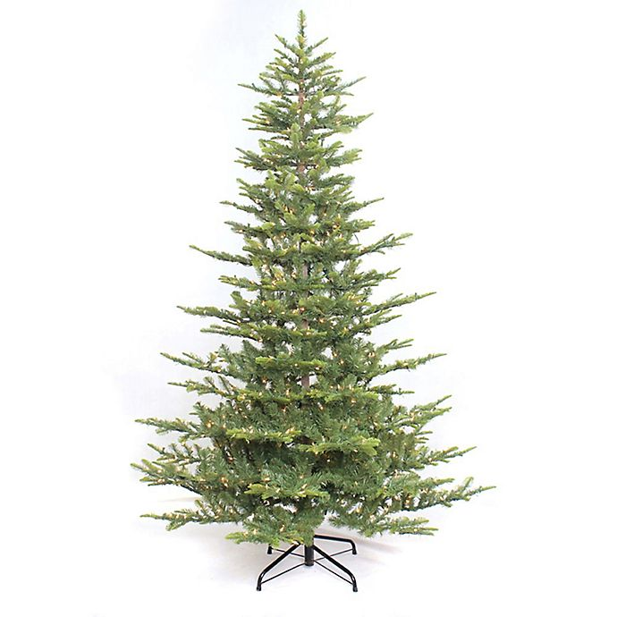 Alternate image 1 for Puleo International 6.5-Foot Aspen Fir Pre-Lit Artificial Christmas Tree with Clear Lights