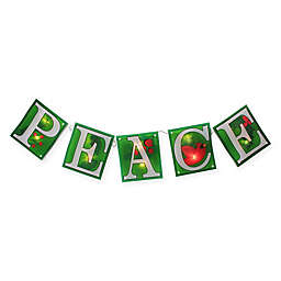 Impact 7-Foot Christmas Garland with Clear Lights