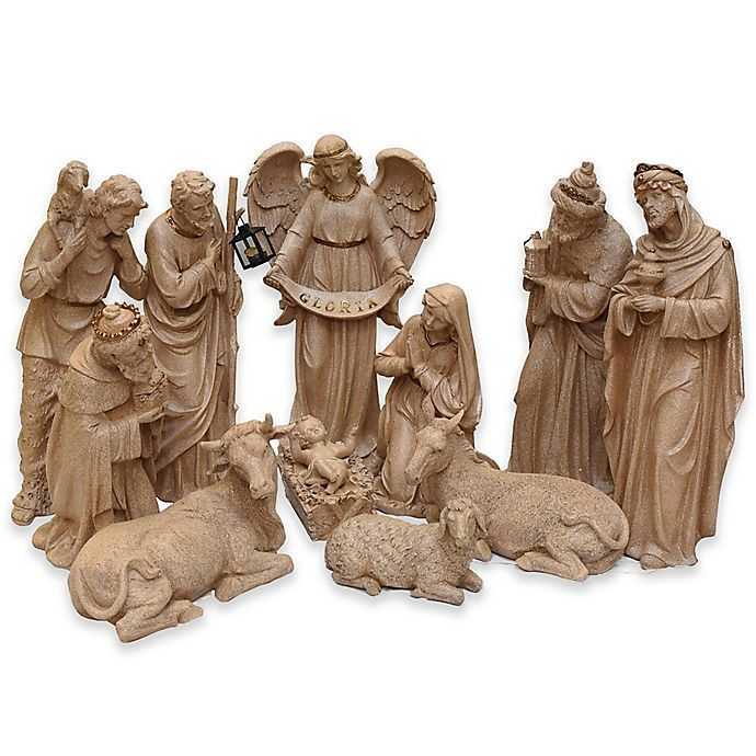 Christmas Nativity Set Outdoor.Northlight 11 Piece 22 75 Inch Indoor Outdoor Christmas