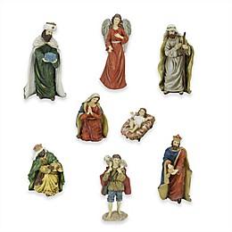 Northlight 8-Piece 12.25-Inch Christmas Nativity Set