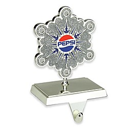 Northlight 6.5-Inch Pepsi® Snowflake Christmas Stocking Holder in Silver
