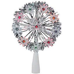 Northlight 7-Inch Multicolor Lit Tree Topper