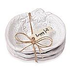 Mud Pie® Pumpkin Dip Bowls in White (Set of 3)