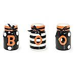 Boston International Witchy World 3-Piece Boo Jar Set