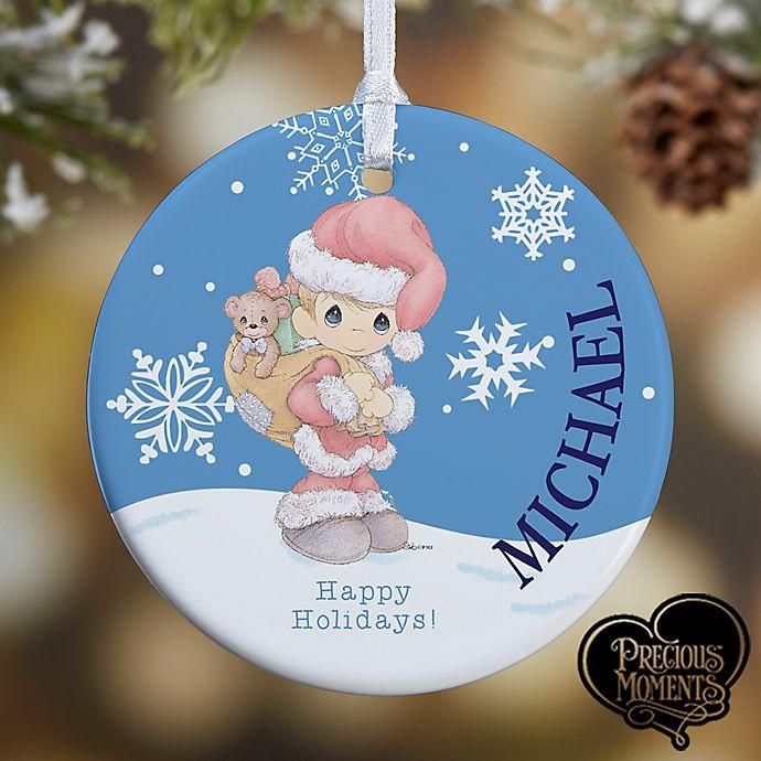 Alternate image 1 for Precious Moments® Santa Christmas Ornament
