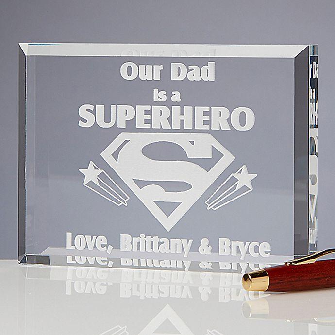 Alternate image 1 for Super Hero Sculpted Keepsake