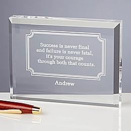 Inspiring Quotes Keepsake