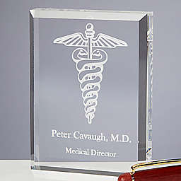 8 Medical Specialties Paperweight