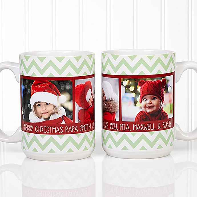 Alternate image 1 for Picture Perfect Photo 15 oz. Coffee Mug