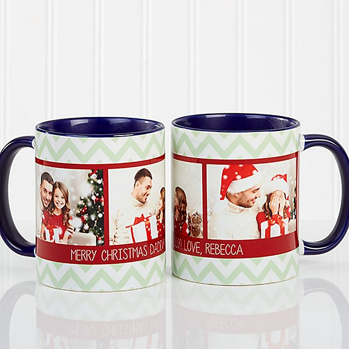 Alternate image 1 for Picture Perfect Christmas 11 oz. Photo Mug