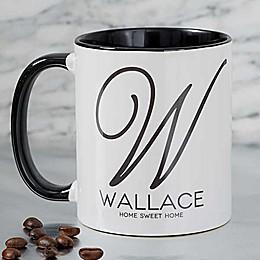 Initial Accent 11 oz. Coffee Mug