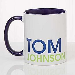 Bold Name 11 oz. Coffee Mug