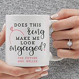 Does This Ring Make Me Look Engaged 11 oz. Coffee Mug
