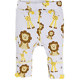 MiracleWear Size 6M Giraffe and Lion Pant in Gold