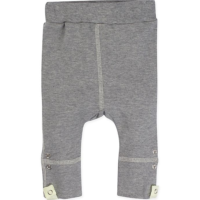 Alternate image 1 for Miraclewear Size 12M Posheez Snap'n Grow Adjustable Pant in Grey