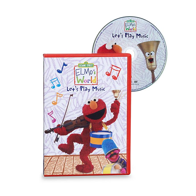 Sesame Street Elmo S World In Let S Play Music Dvd Bed