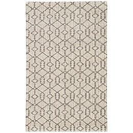 Nikki Chu by Jaipur Living Baza Subra Tribal Rug in Charcoal Grey