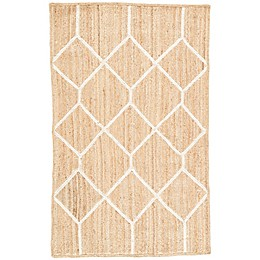 Nikki Chu by Jaipur Living Subra Aten Rug in Brown