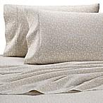 Heartland® HomeGrown™ Floral 400-Thread-Count Sateen Queen Sheet Set in Stone