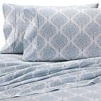 Heartland® HomeGrown™ Medallion 400 TC Sateen King Sheet Set in Light Blue