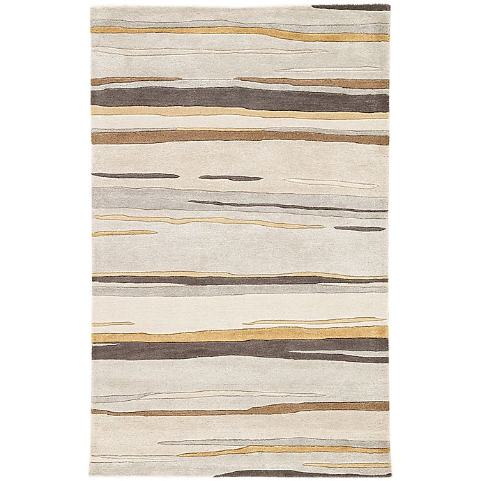 Alternate image 1 for Jaipur Baroque Bernini 9-Foot 6-Inch x 13-Foot 6-Inch Area Rug in Grey/Brown