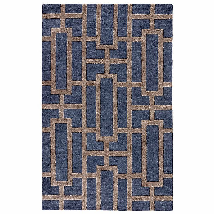 Alternate image 1 for Jaipur City Dallas 9-Foot 6-Inch x 13-Foot 6-Inch Area Rug in Blue/Taupe