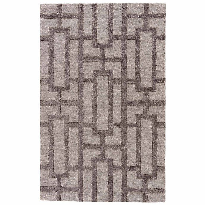 Alternate image 1 for Jaipur City Dallas 9-Foot 6-Inch x 13-Foot 6-Inch Area Rug in Ivory/Grey