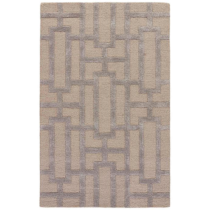 Alternate image 1 for Jaipur City Dallas 9-Foot 6-Inch x 13-Foot 6-Inch Area Rug in Ivory/Silver