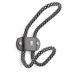 Umbra® Lasso Single Hook Rack in Black