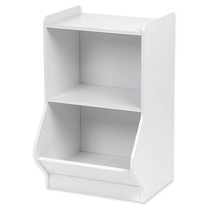 Alternate image 1 for IRIS® 2-Tier Storage Shelf in White