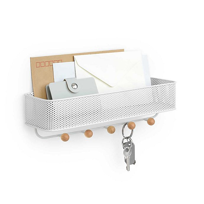 Alternate image 1 for Umbra® Estique Wall Organizer in White
