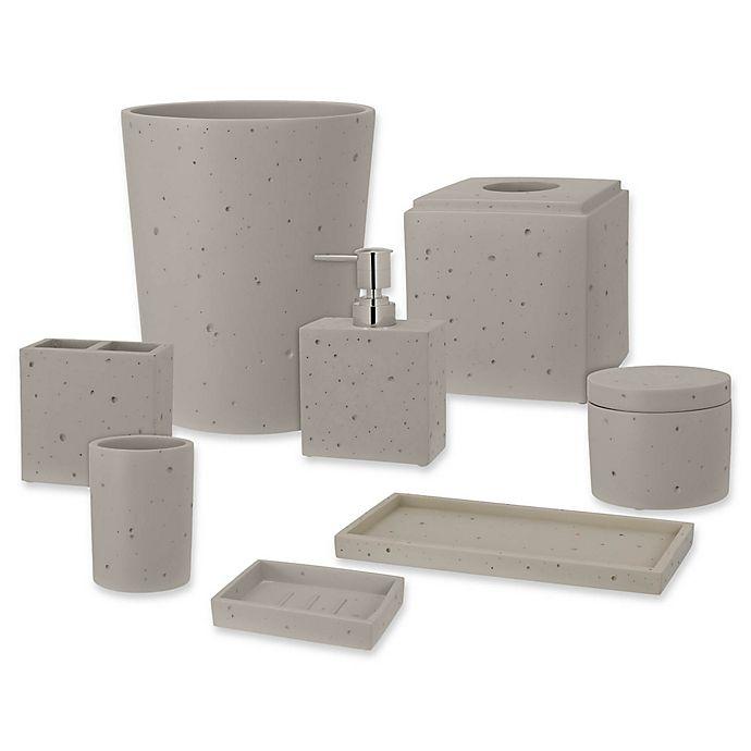 Bed Bath And Beyond Bath Accessories: Creative Bath™ Concrete Bath Ensemble