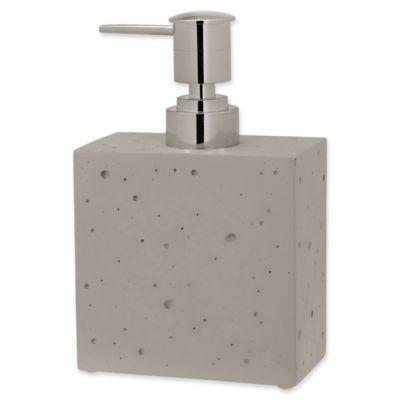 Creative Bath™ Concrete Lotion Dispenser by Bed Bath And Beyond