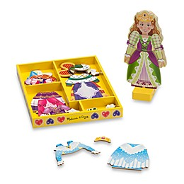 Wooden Doll Magnetic Dress-Up Set - Elise