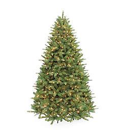 Puleo International Douglas Fir Premier Pre-Lit Artificial Christmas Tree with Clear Lights
