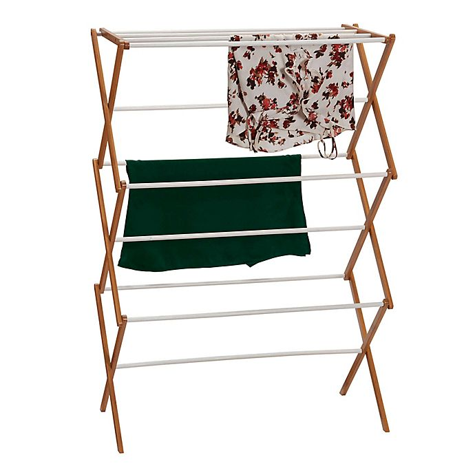 Household Essentials 174 Collapsible Clothes Drying Rack In