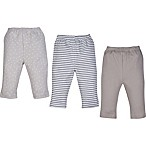 MiracleWear Newborn 3-Pack Pants in Grey