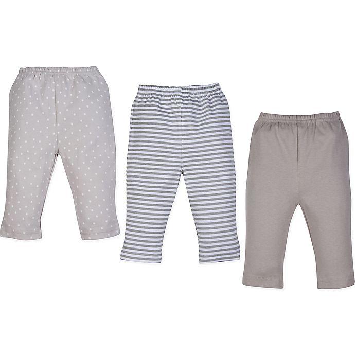 Alternate image 1 for MiracleWear 3-Pack Pants in Grey