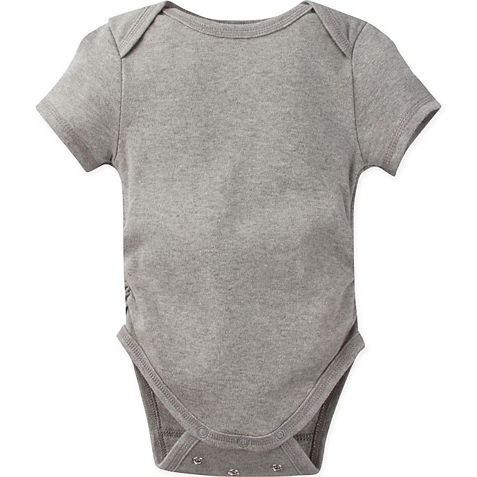 Alternate image 1 for MiracleWear Size 12M Solid Bodysuit in Grey