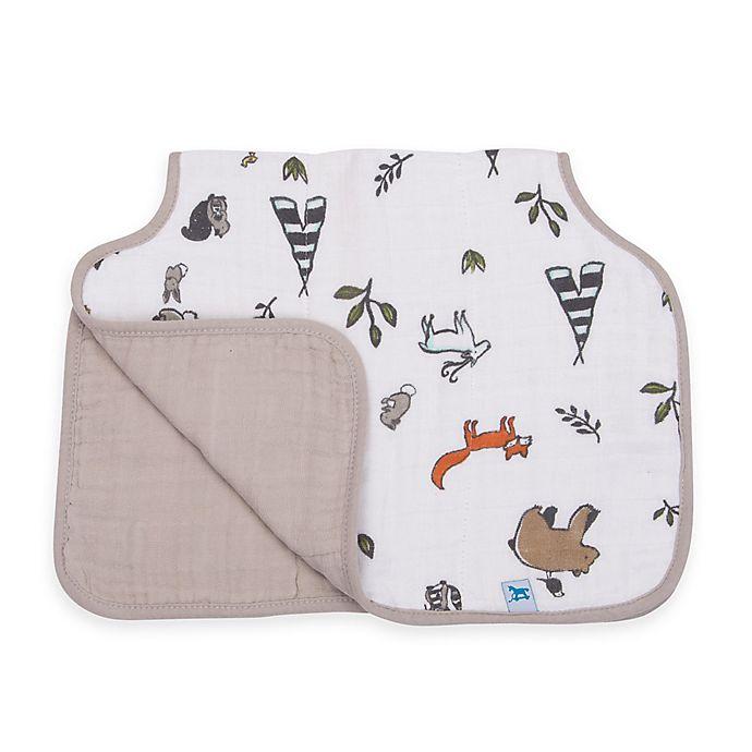 Alternate image 1 for Little Unicorn™ Cotton Muslin Burp Cloth in Forest Friends