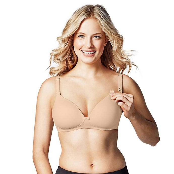 Alternate image 1 for Bravado Designs Buttercup Nursing Bra in Nude