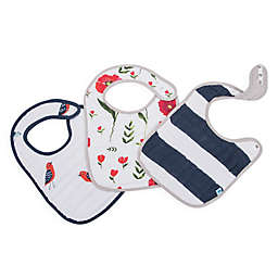 Little Unicorn™ 3-Pack Cotton Muslin Classic Bib