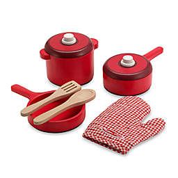 Melissa & Doug® Wooden Pots & Pans Set