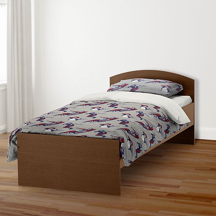 Alternate image 1 for Designs Direct Football Player Twin Duvet Cover