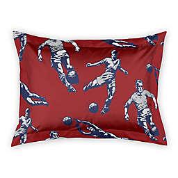 Designs Direct Soccer Player Standard Pillow Sham