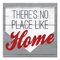 """Designs Direct """"There's No Place Like Home"""" 16-Inch Square Canvas Wall Art"""