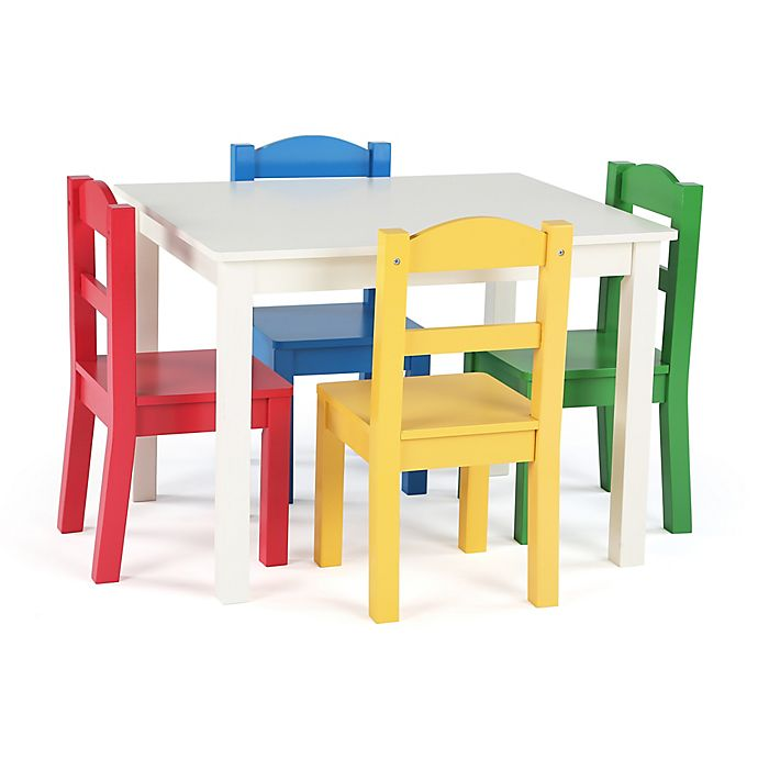 Alternate image 1 for Tot Tutors 5-Piece Table & Chairs Set
