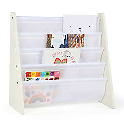 Tot Tutors Cambridge Book/Magazine Rack in White